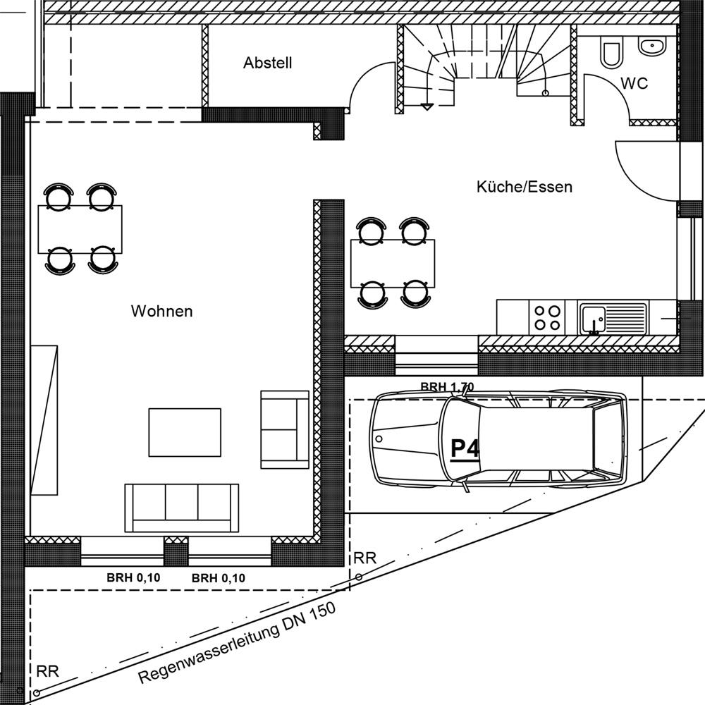 Hofanlage Büro+Halle Mönchengladbach Rauchhaus